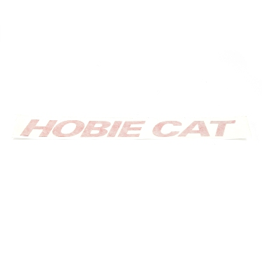"Decal ""Hobie Cat"" Red"