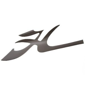 """Decal Bow – Flying """"h"""" Blk"""