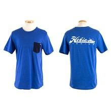 Hobie T Shirt FISHING R BLUE/WHT