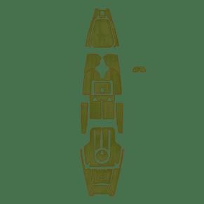 Mat Kit, Pa12 Green/Espresso