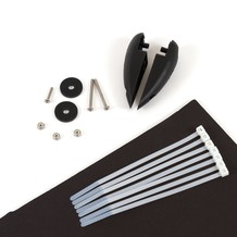 RUDDER READY KIT w/HARDWARE