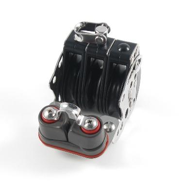 Blk-2.25″ Lo Pro Triple Hex