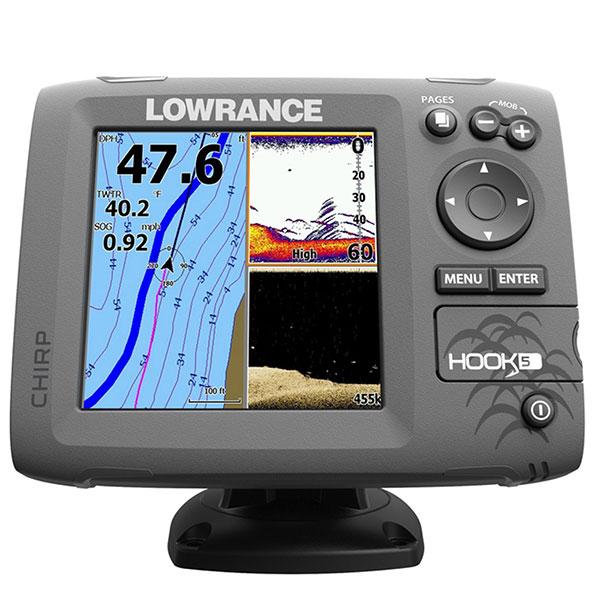 Lowrance Fishfinder Hook 5