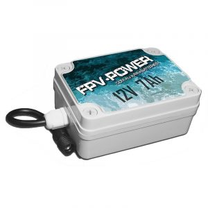 FPV Power 7Ah Kayak Battery and Charger Combo