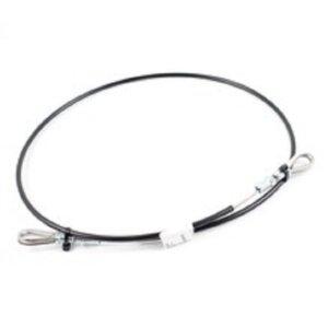 Wire Bridle H16 Black