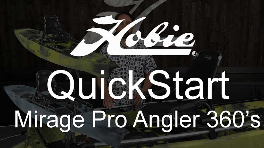 Hobie ProAngler 360 Quick Start Video
