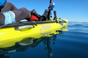 Hobie Kayak On Glassy Water