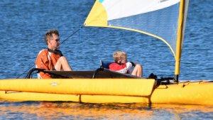 Winter Sailing In Queensland On A Hobie Tandem Island