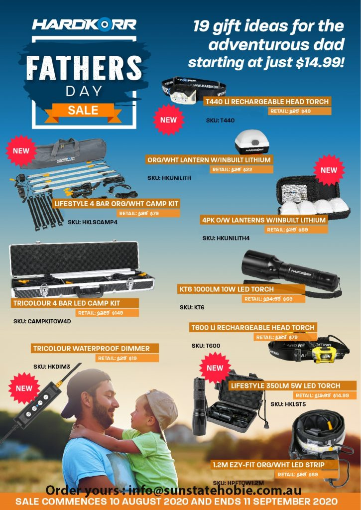 Hard Korr Fathers Day Specials