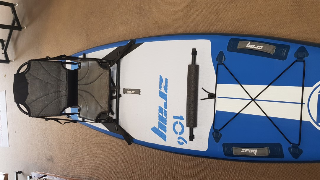Optional kayak seat on iSUP