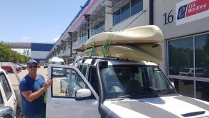 Hobie Kayaks Double Stacked On The Roof