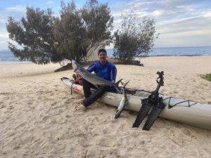 Big Out Of A Hobie Kayak