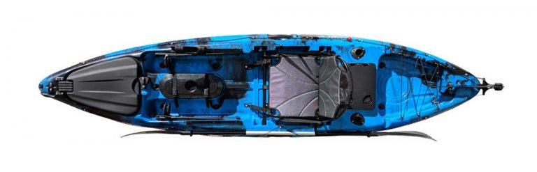 Viper 10.5 Fishing Kayak Top View
