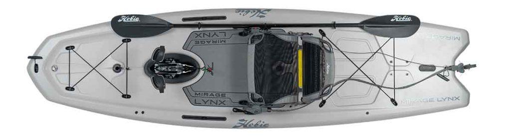 Hobie Mirage Lynx Top View