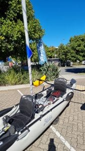 Hobie Oasis For Sale With Sail Kit And Ama